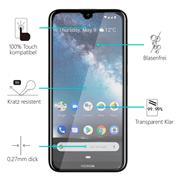 Glasfolie für Nokia 2.2 Schutzfolie Panzer Scheibe Folie Display Schutzglas 9H