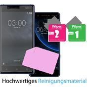 Panzer Glas Folie für Nokia 3 Handy Schutz Folie 9H Echtglas