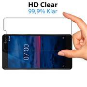 Panzerglas für Nokia 7 Schutzfolie Glasfolie 9H Ultra Clear Glas Folie