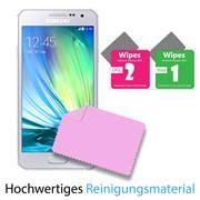 Panzerglas für Samsung Galaxy A3 Schutzfolie Glasfolie 9H Ultra Clear Glas Folie