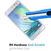 Panzerglas für Samsung Galaxy A5 Schutzfolie Glasfolie 9H Ultra Clear Glas Folie