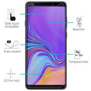 Glasfolie für Samsung Galaxy A9 (2018) Schutzfolie Panzerglas Scheibe Folie Display Schutzglas