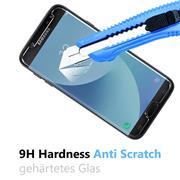 Glasfolie für Samsung Galaxy J5 (2017) Schutzfolie Panzerglas Scheibe Folie Display Schutzglas