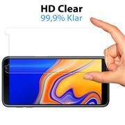 Glasfolie für Samsung Galaxy J6 Plus Schutzfolie Panzerglas Scheibe Folie Display Schutzglas