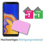 Panzerglas für Samsung Galaxy J6 Plus Glasfolie Displayschutz Folie Glas Hartglas Anti Fingerprint