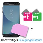 Panzer Glas Folie für Samsung Galaxy J7 2017 Schutz Folie 9H Echtglas