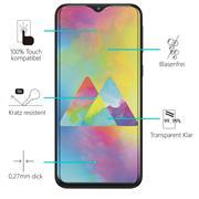 Panzerglas für Samsung Galaxy M30s, Samsung M21 Glasfolie Displayschutz Folie Glas Hartglas Anti Fingerprint
