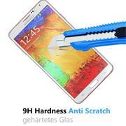 Panzerglas für Samsung Galaxy Note 3 Schutzfolie Glasfolie 9H Ultra Clear Glas Folie