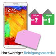 Panzer Glas Folie für Samsung Galaxy Note 4 Schutz Folie 9H Echtglas