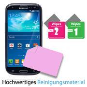 Glasfolie für Samsung Galaxy S3 Schutzfolie Panzerglas Scheibe Folie Display Schutzglas
