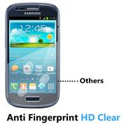 Panzerglas für Samsung Galaxy S3 Mini Glasfolie Displayschutz Folie Glas Hartglas Anti Fingerprint