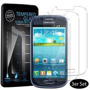 Panzerglas für Samsung Galaxy S3 mini Schutzfolie Glasfolie 9H Ultra Clear Glas Folie