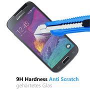 Glasfolie für Samsung Galaxy S4 Mini Schutzfolie Panzerglas Scheibe Folie Display Schutzglas