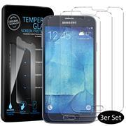 Panzerglas für Samsung Galaxy S5 / S5 Neo Schutzfolie Glasfolie 9H Ultra Clear Glas Folie