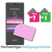 Panzerglas für Sony Xperia 5 Glasfolie Displayschutz Folie Glas Hartglas Anti Fingerprint