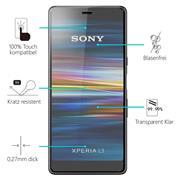 Panzerglas für Sony Xperia L3 Glas Folie Displayschutz Schutzfolie