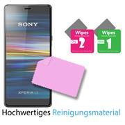 Panzerglas für Sony Xperia L3 Glasfolie Displayschutz Folie Glas Hartglas Anti Fingerprint