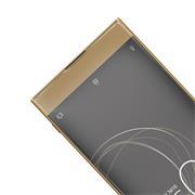 Panzer Glas Folie für Sony Xperia XA1 Ultra Schutz Folie 9H Echtglas