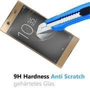 Glasfolie für Sony Xperia XA1 Ultra Schutzfolie Panzerglas Scheibe Folie Display Schutzglas