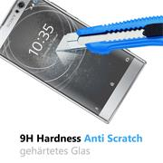 Panzerglas für Sony Xperia XA2 Schutzfolie Glasfolie 9H Ultra Clear Glas Folie
