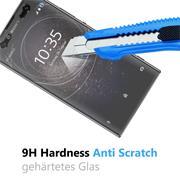 Panzerglas für Sony Xperia XA2 Ultra Schutzfolie Glasfolie 9H Ultra Clear Glas Folie