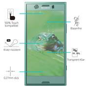 Glasfolie für Sony Xperia XZ1 Compact Schutzfolie Panzerglas Scheibe Folie Display Schutzglas