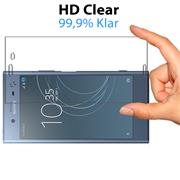 Panzer Glas Folie für Sony Xperia XZ1 Schutz Folie 9H Echtglas