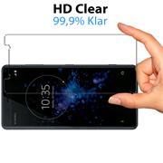 Panzerglas für Sony Xperia XZ2 Compact Glasfolie Displayschutz Folie Glas Hartglas Anti Fingerprint