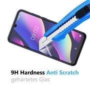 Panzerglas für Wiko View 3 Glasfolie Displayschutz Folie Glas Hartglas Anti Fingerprint