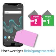 Panzer Glas Folie für Wiko Wim Handy Schutz Folie 9H Echtglas