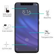 Panzerglas für Xiaomi Mi 8 Pro Glasfolie Displayschutz Folie Glas Hartglas Anti Fingerprint