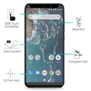 Glasfolie für Xiaomi Mi A2 Schutzfolie Panzer Scheibe Folie Display Schutzglas 9H