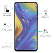 Panzerglas für Xiaomi Mi Mix 3 Glasfolie Displayschutz Folie Glas Hartglas Anti Fingerprint