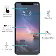 Panzerglas für Xiaomi Redmi Note 6 Pro Glasfolie Displayschutz Folie Glas Hartglas Anti Fingerprint