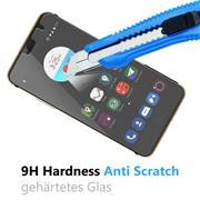 Panzer Glas Folie für ZTE Blade V7 Handy Schutz Folie 9H Echtglas