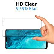 Panzerglas für Honor 9X Lite Glas Folie Displayschutz Schutzfolie