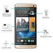 Panzerglas für HTC One M7 Glas Folie Displayschutz Schutzfolie