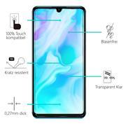 Panzerglas für Huawei P30 Glas Folie Displayschutz Schutzfolie