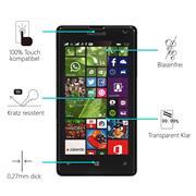 Panzerglas für Microsoft Lumia 535 Glas Folie Displayschutz Schutzfolie