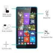 Panzerglas für Microsoft Lumia 540 Glas Folie Displayschutz Schutzfolie