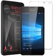 Panzerglas für Microsoft Lumia 650 Glas Folie Displayschutz Schutzfolie