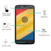 Panzerglas für Motorola Moto C Plus Glas Folie Displayschutz Schutzfolie