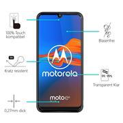 Panzerglas für Motorola Moto E6 Plus Glas Folie Displayschutz Schutzfolie
