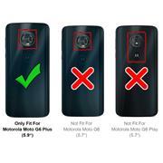 Panzerglas für Motorola Moto G6 Plus Glas Folie Displayschutz Schutzfolie