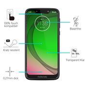 Panzerglas für Motorola Moto G7 Play Glas Folie Displayschutz Schutzfolie