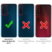 Panzerglas für Motorola Moto G8 Glas Folie Displayschutz Schutzfolie
