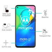 Panzerglas für Motorola Moto G8 Power Glas Folie Displayschutz Schutzfolie