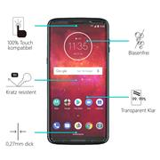 Panzerglas für Motorola Moto Z3 Play Glas Folie Displayschutz Schutzfolie