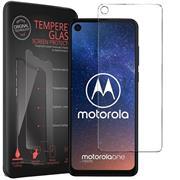 Panzerglas für Motorola One Vision Glas Folie Displayschutz Schutzfolie