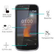 Panzerglas für Nokia 1 Glas Folie Displayschutz Schutzfolie